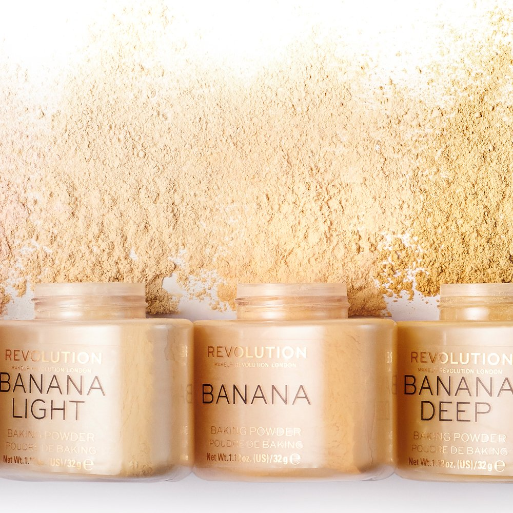 Go bananas! 🍌 New shades of our bestselling Banana Baking Powder have arrived 🙌 http://bit.ly/2D07qy1  #RevolutionBakeOff