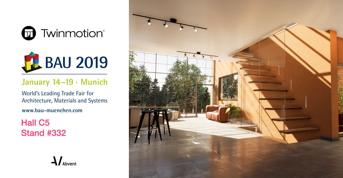Team #Twinmotion is heading to #BAU2019 next week in Munich