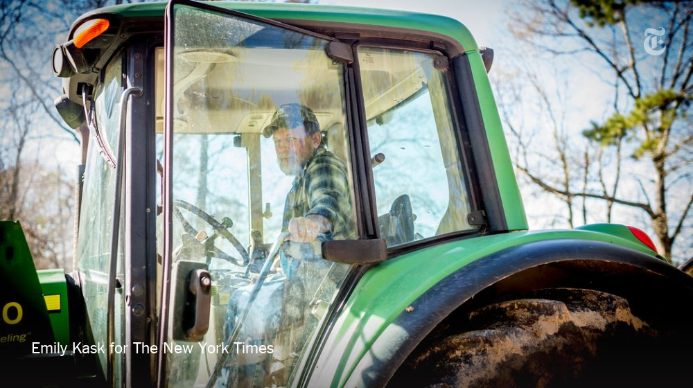 'I may lose the farm, but I strongly feel we need some border security.' Many farmers have stayed loyal to President Trump and his demands for $5.7 billion for a border wall, even as the shutdown threatens their livelihood. https://t.co/t2u0TKbUem