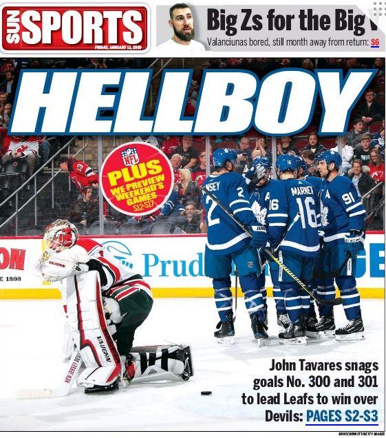 Toronto Sun's photo on John Tavares