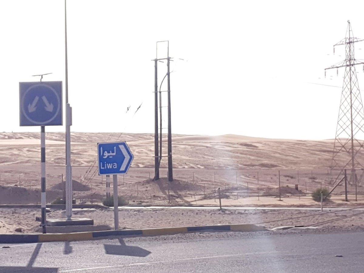 Gulf News Fun Drive live: heading towards Liwa camp https://t.co/5gbd23vNWN