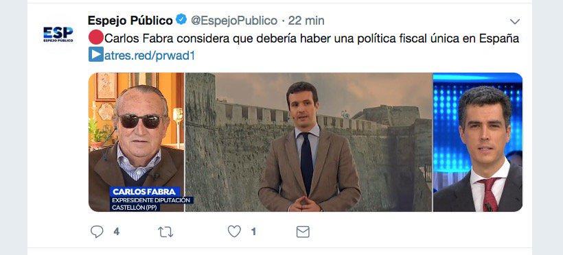 Jaume I El Castigaor's photo on Carlos Fabra