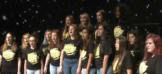 The forecast has everybody buzzing about school possibilities for Monday.   #PleaseBob #MakeTheCallBob #KeepCalmBobWillCall  Nobody, however, is expressing it quite like these #AACPSAwesome vocalists from  @therealNHSEagle.  Thanks, Deep Treble!  https://youtu.be/qm2hCYsrqR4