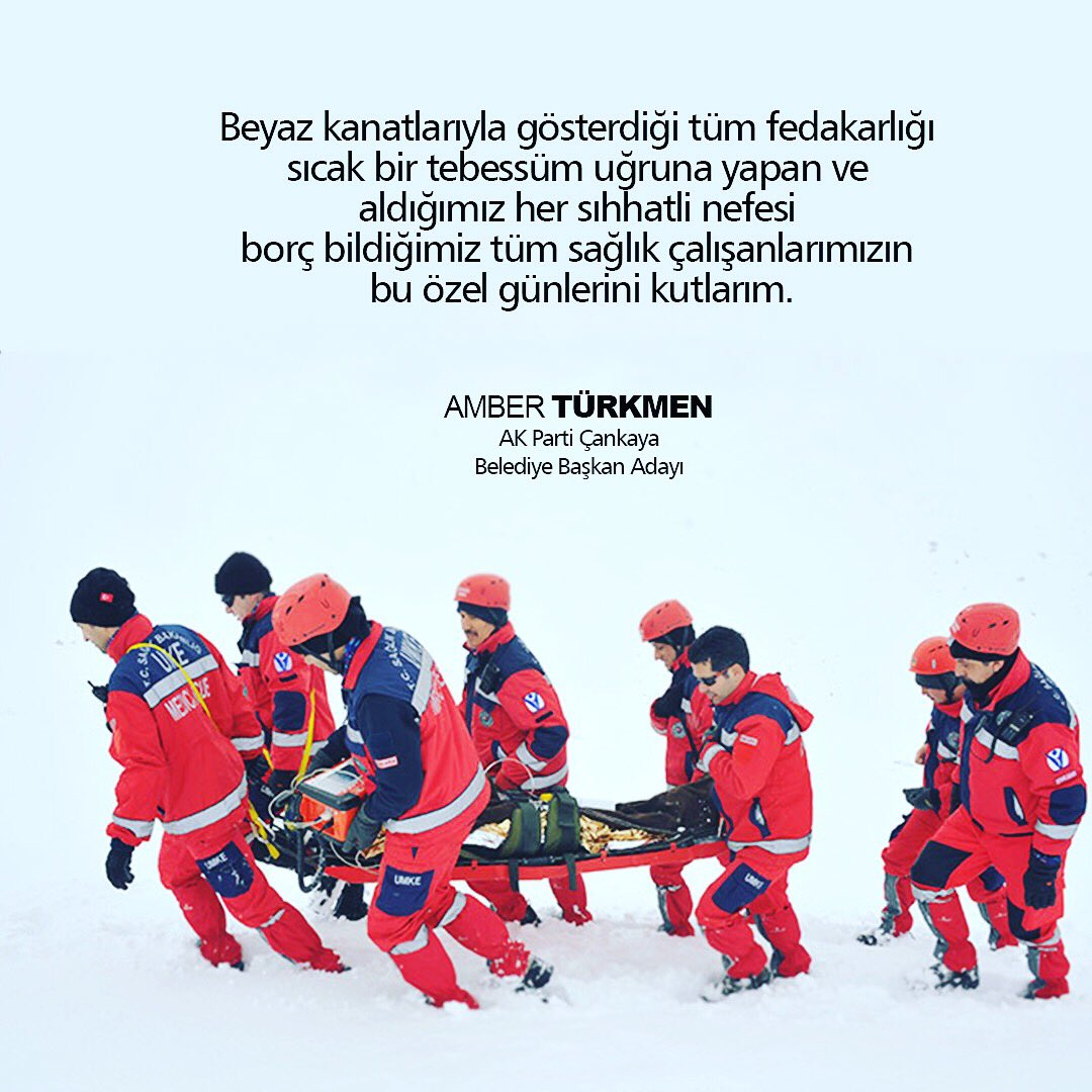 Amber Türkmen🇹🇷's photo on #11OcakTurkiyeSaglikcilarGunu