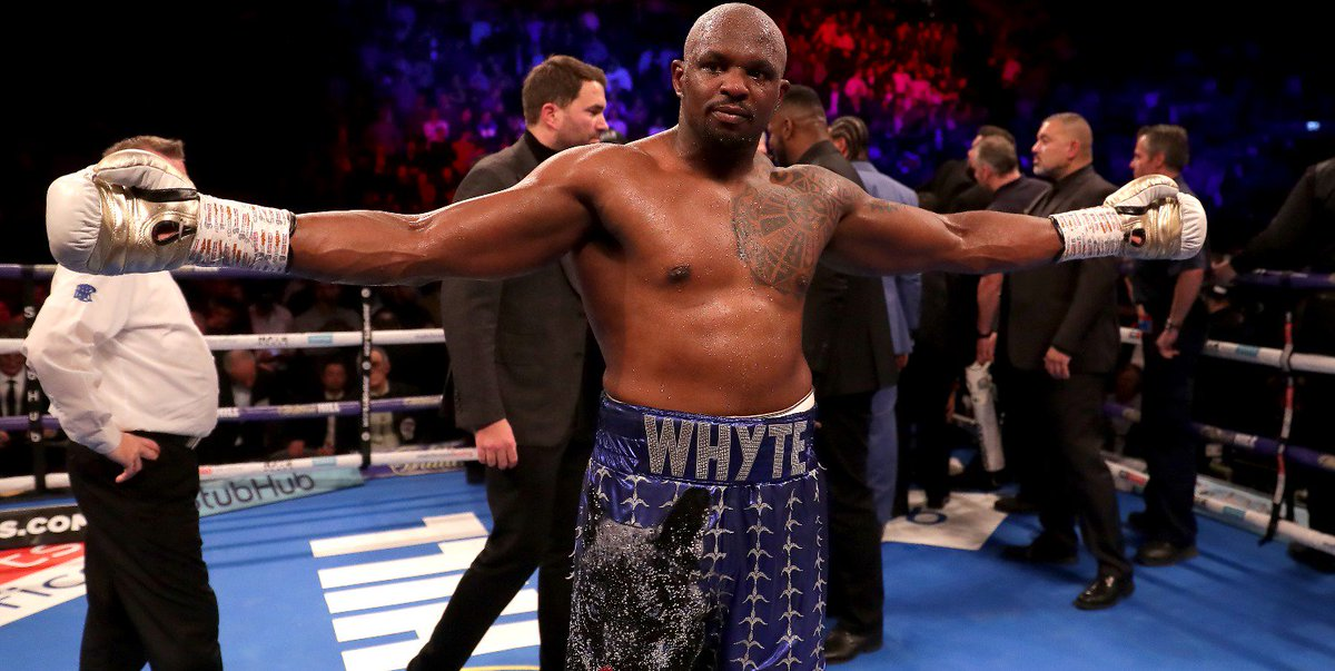 bet365's photo on dillian whyte