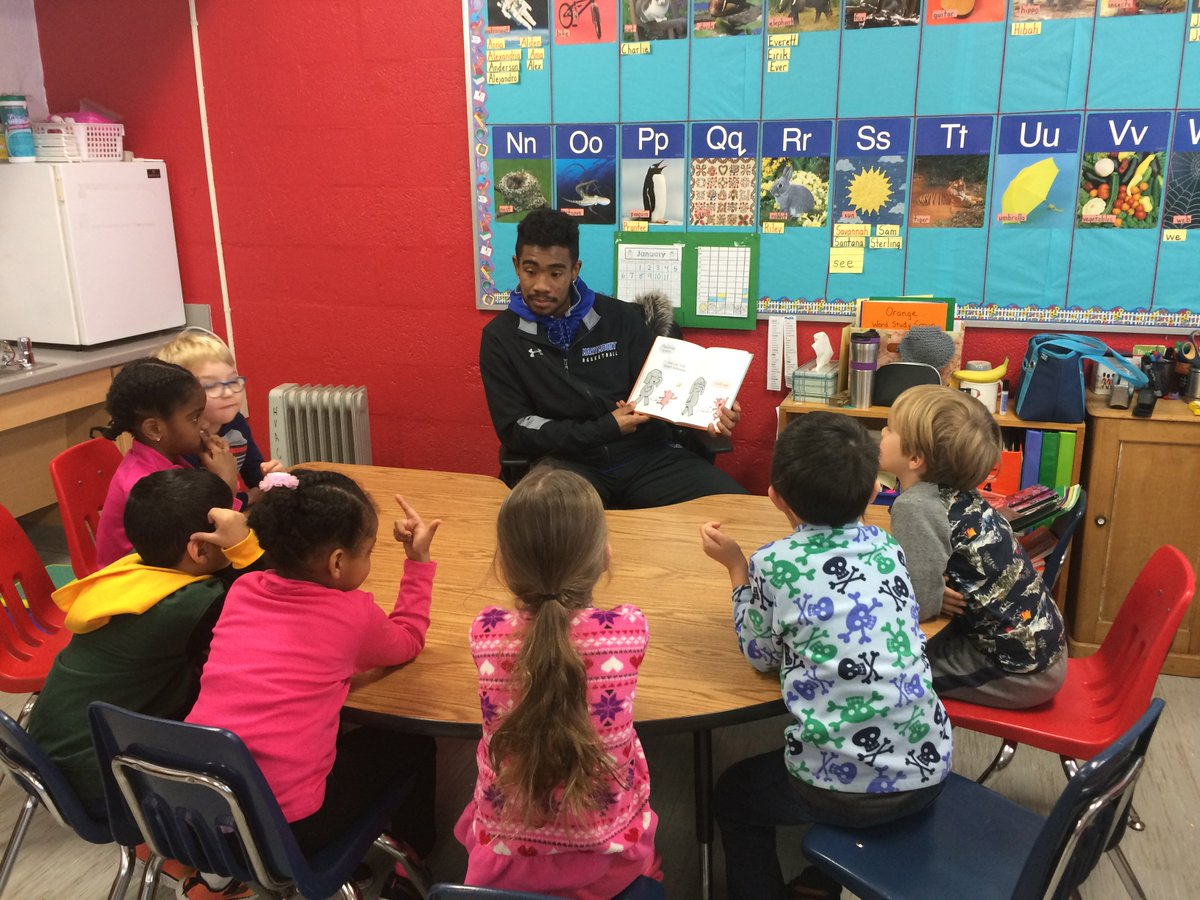 Thanks to our guest readers, the Marymount Basketball team! <a target='_blank' href='https://t.co/zlMM0QmMsw'>https://t.co/zlMM0QmMsw</a>