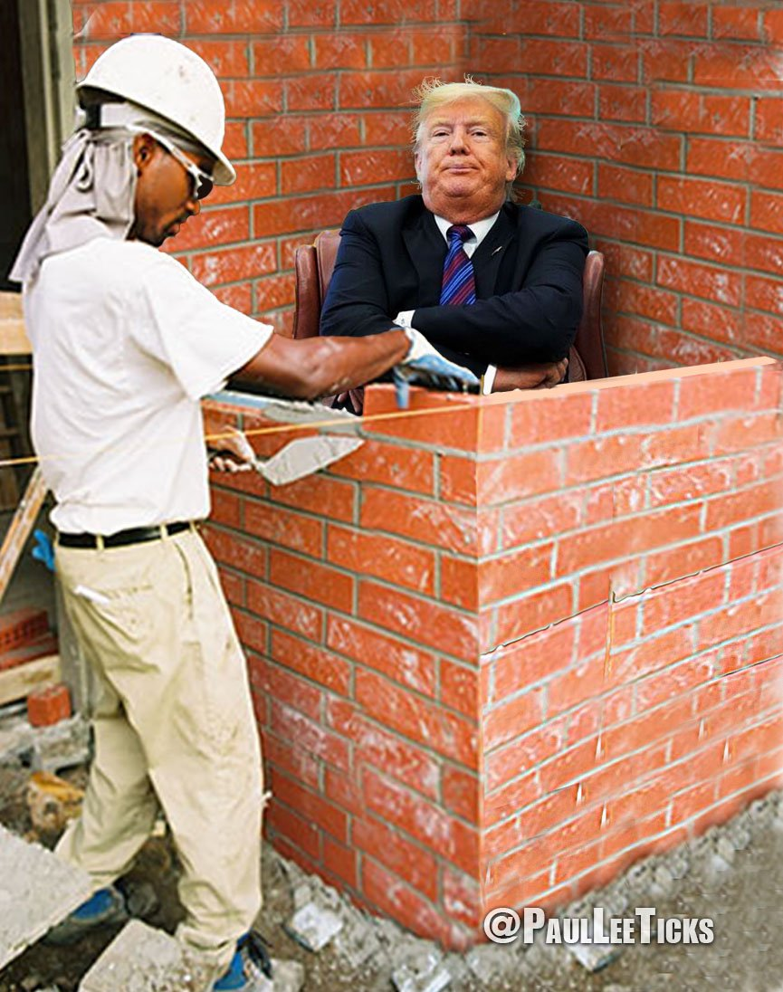 We SHOULD have a wall, but more like THIS ONE.  Jews have a Wailing Wall, why shouldn't the US have a Pissing Wall?  #PeeIfYouAreAPatriot