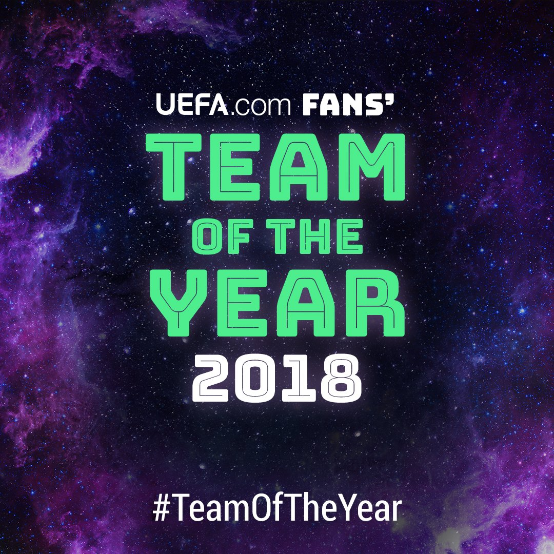 The voting is over!  Stay tuned as we reveal the 2018 #TeamOfTheYear! 🎇