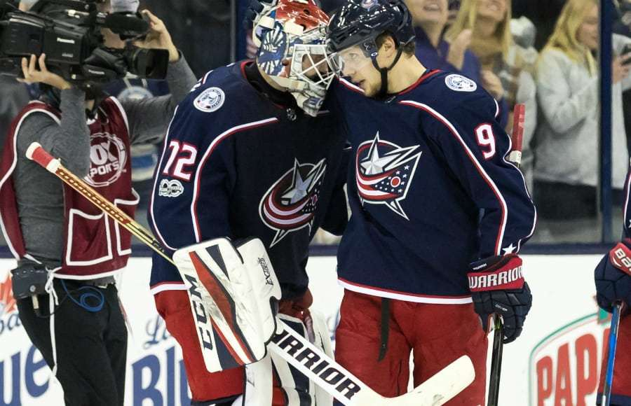 Live In The Stands's photo on Bobrovsky