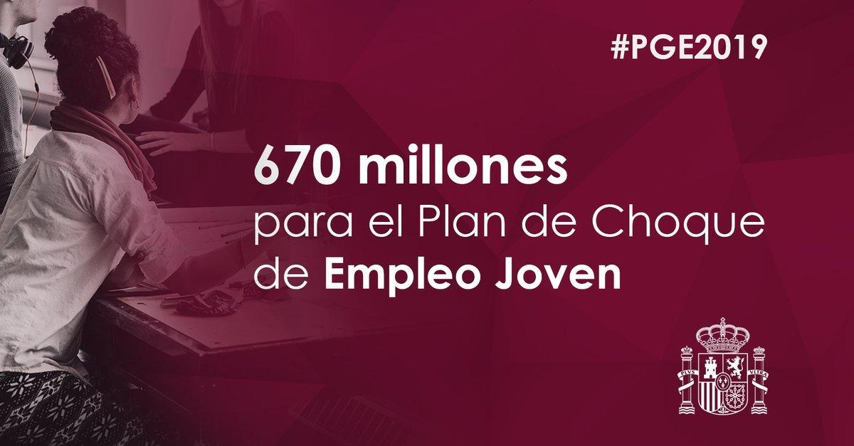 Ministerio Trabajo, Migraciones y Seguridad Social's photo on #PGEparaUnPaísMejor