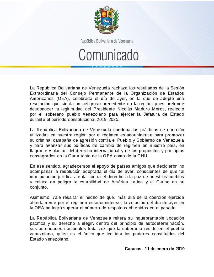 Dictadura de Nicolas Maduro - Página 20 DwofyzrX4AEmqkT