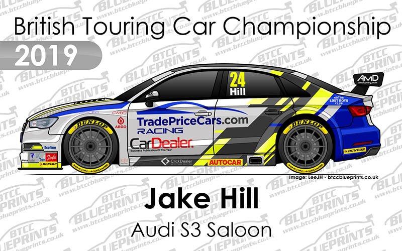 Btcc Blueprints On Twitter Jakehilldriver Tpcracingbtcc Audi