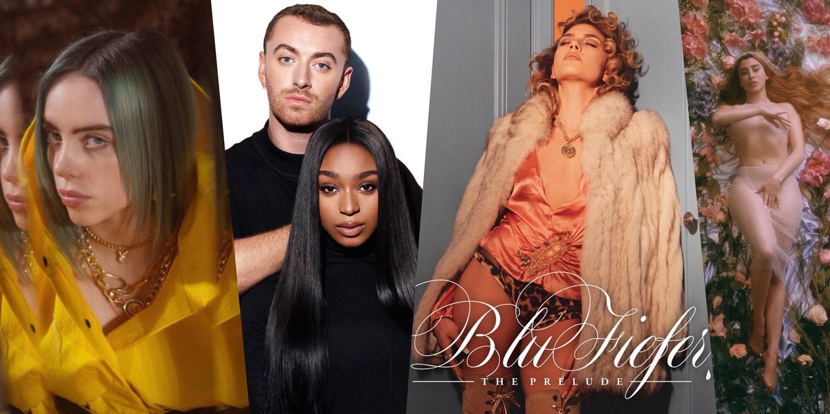 It's back! Get into #NewMusicFriday for your 2019 catalogue covering all latest releases &amp; early bets EVERY WEEK  this week's *MASSIVE UPDATE* includes: Sam Smith &amp; Normani, Kehlani, Billie Eilish, Blu Fiefer, Lana Del Rey, Lizzo &amp; more!  PLAY:  https:// play.anghami.com/playlist/13161 4762?bid=/FTDWchfqnT &nbsp; … <br>http://pic.twitter.com/MslgxKVbmX