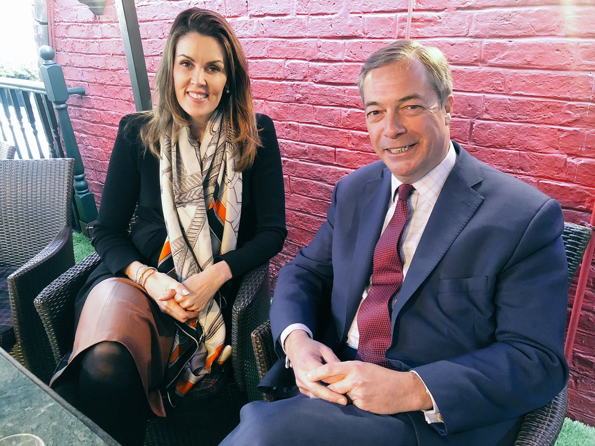 Nigel Farage's photo on Peta Credlin