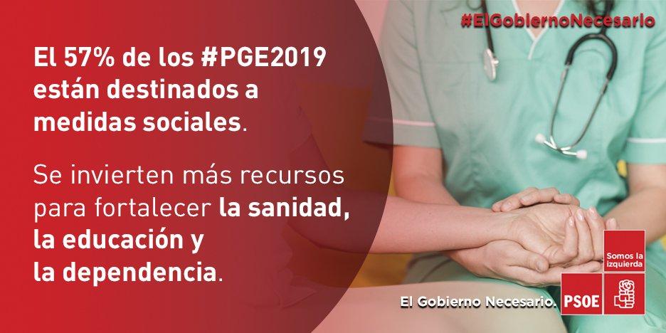 PSOE's photo on estado del bienestar