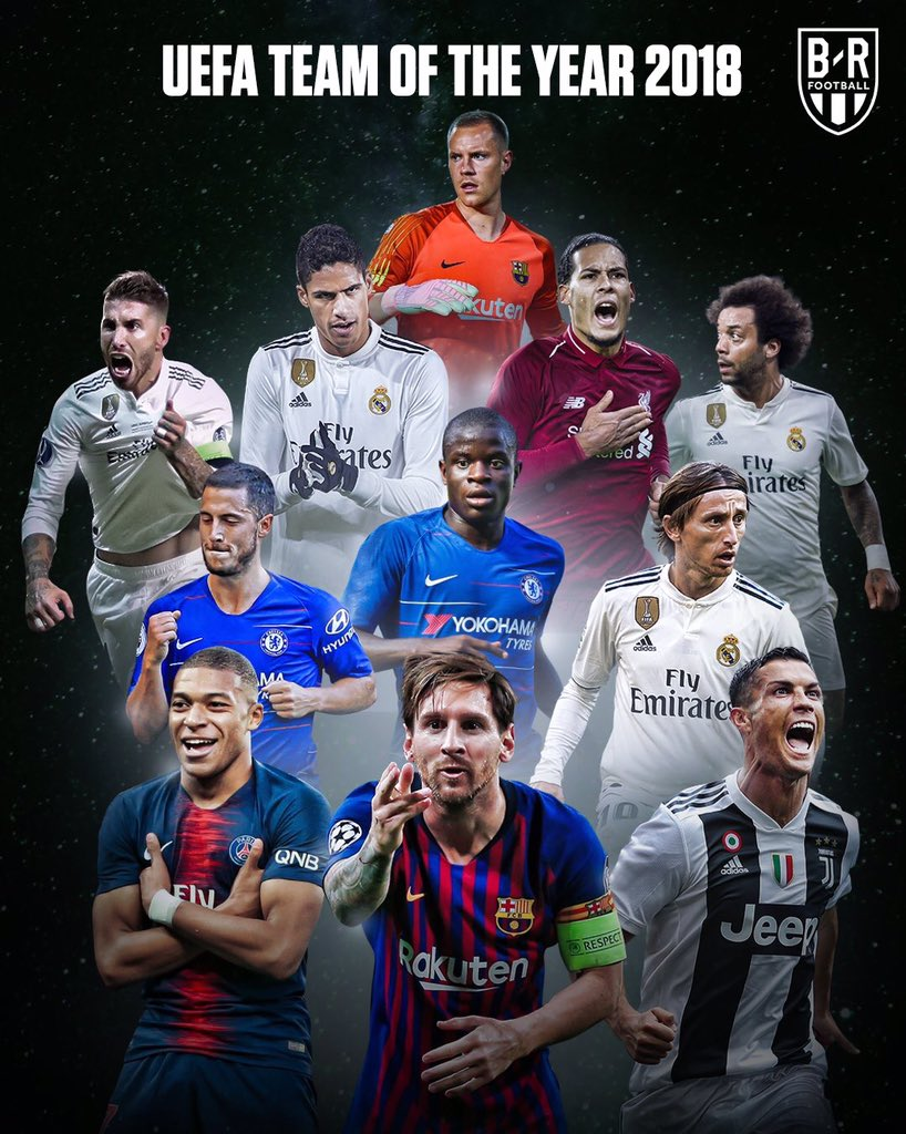 Stop posting these, That's the UEFA TOTY