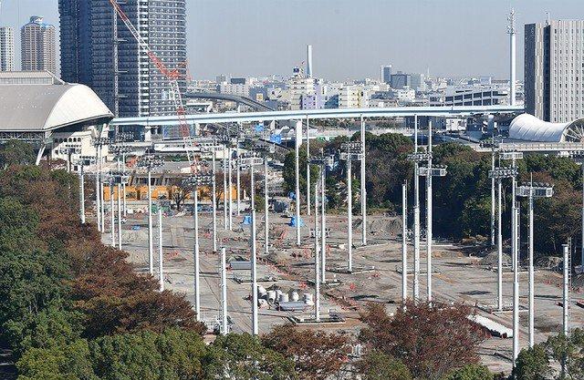 ライブドアニュース's photo on 五輪会場の有明テニスの森