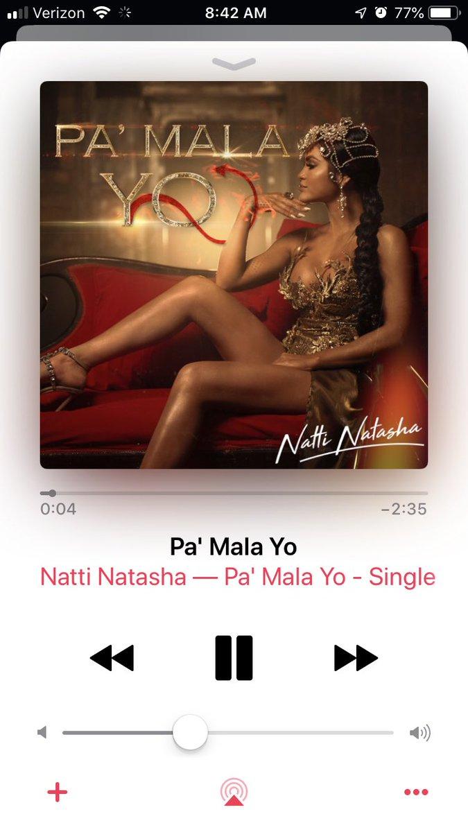 Pa mala yo letra natti natasha