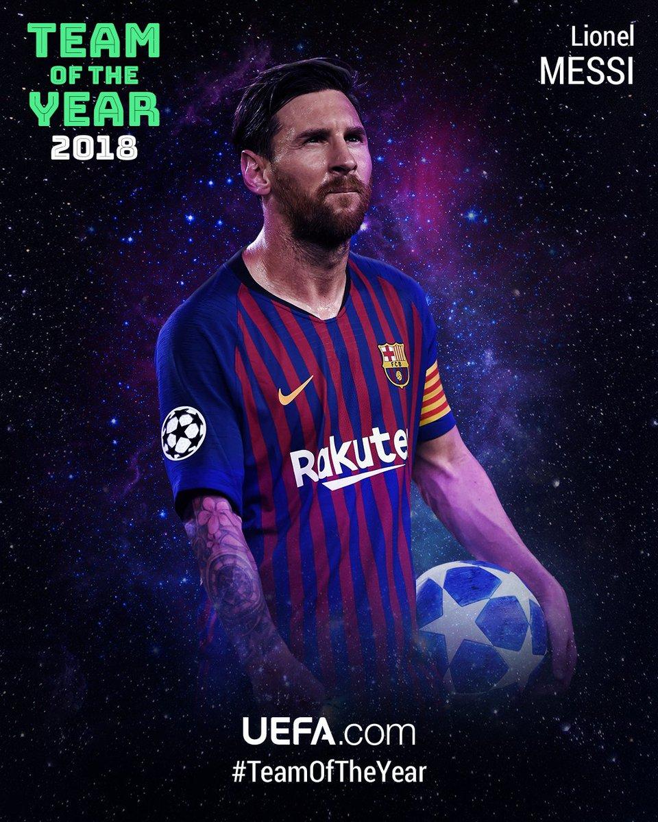 🎇 #TeamOfTheYear 2018 🎇  9⃣ Leo Messi, @FCBarcelona