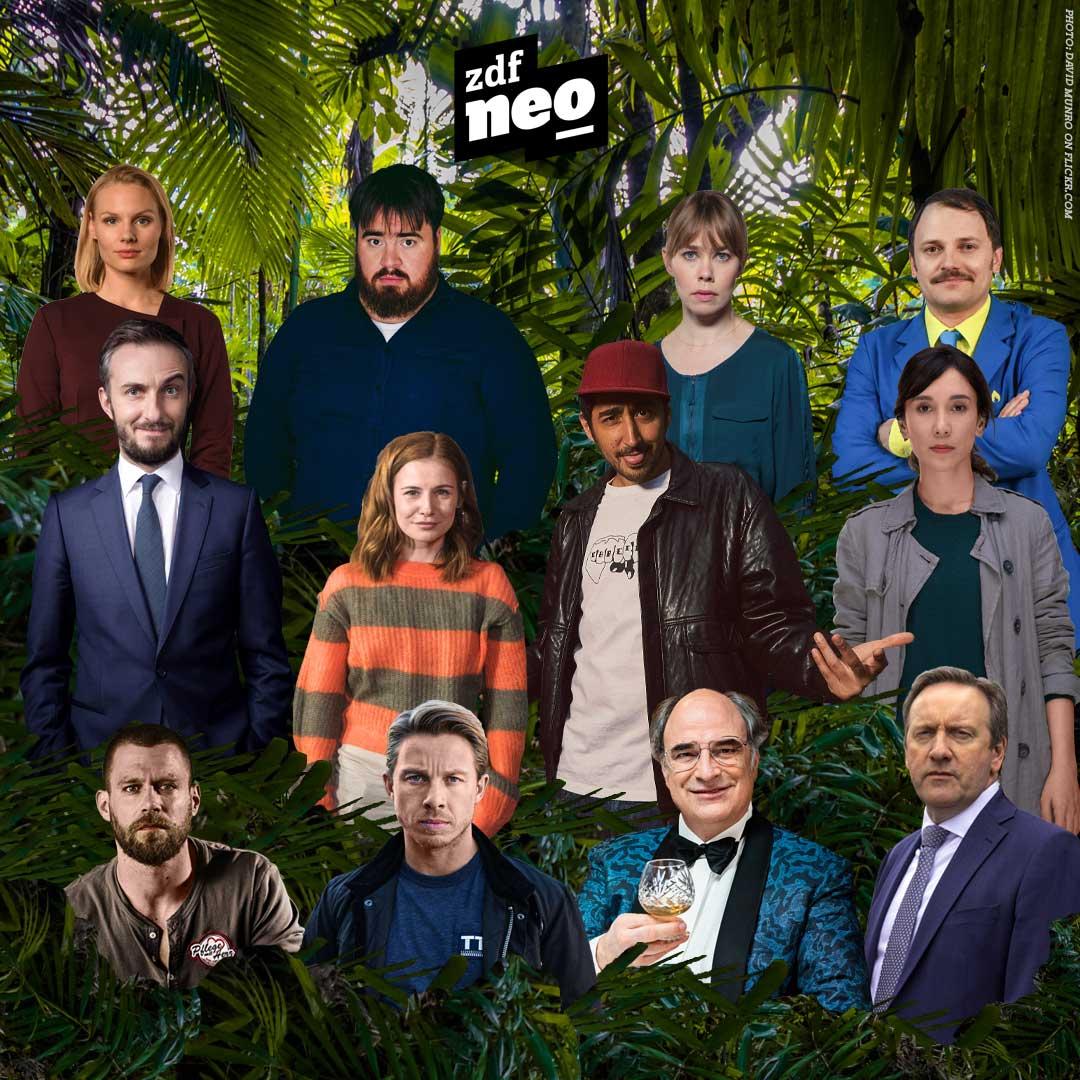 Zwölf neoKandidaten ziehen in den Dschungel auf dem Lerchenberg – wer kommt als Dschungelkönig wieder raus? 🌿🎉 #IBES #IBES2019