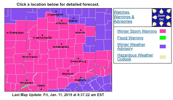 WCRD Weather's photo on Winter Storm Warning