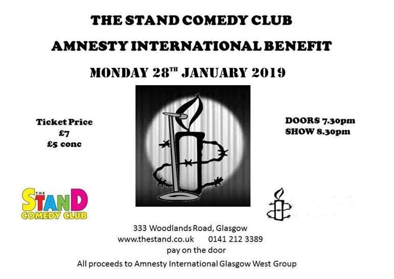 Glasgow West Amnesty's photo on ring
