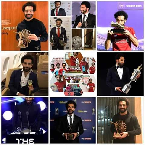 This list should not be free from the Egyptian King Mo Salah