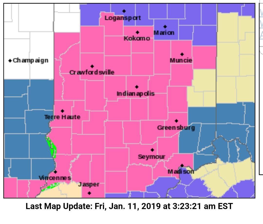 Anderson Weather's photo on Winter Storm Warning