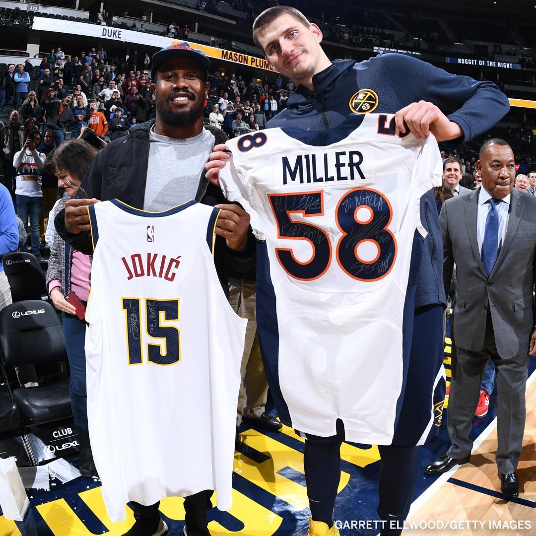 .@VonMiller & Nikola Jokic: two of Denver's best. https://t.co/TgEXCp9S02