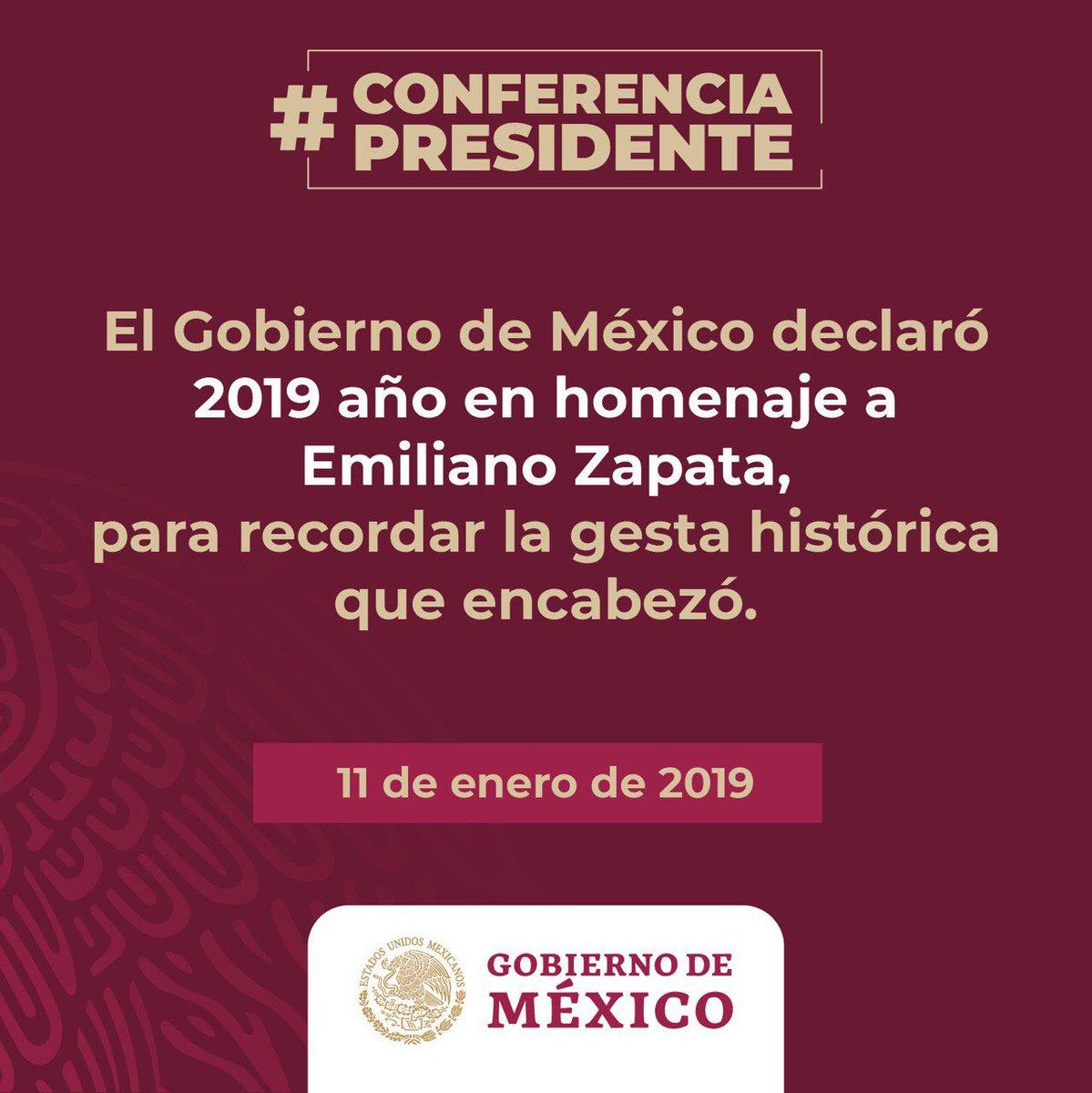 Gobierno de México's photo on Emiliano Zapata