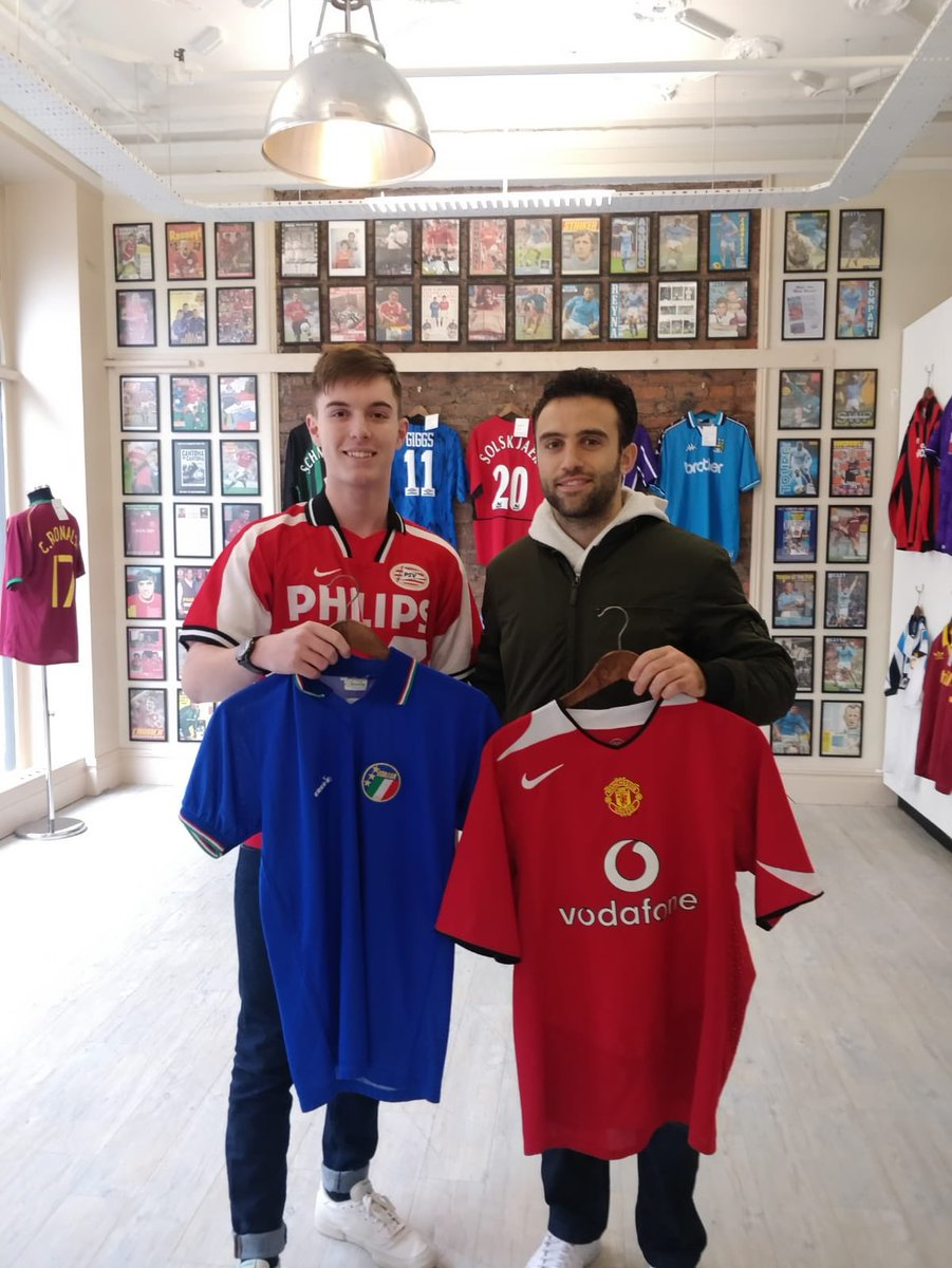 Nice to see @GiuseppeRossi22 pop into #cfsmcr today. We wish you all the best with the next step of your career!