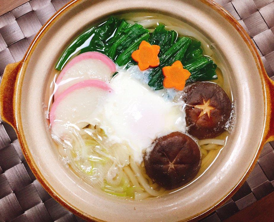 世界文化社 PR's photo on 鍋焼きうどん