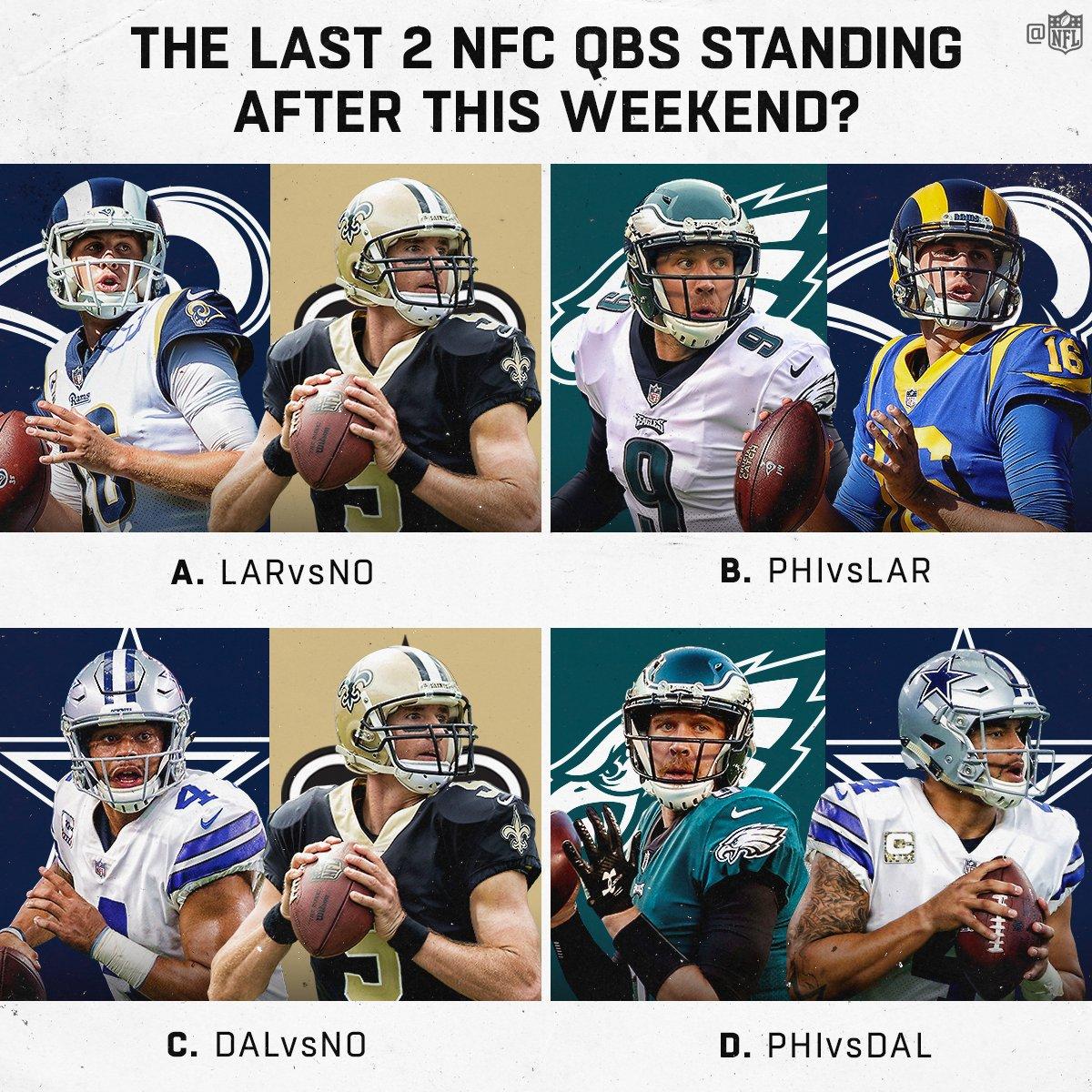 Hmmmm... �� #NFLPlayoffs https://t.co/chB67VHvx5