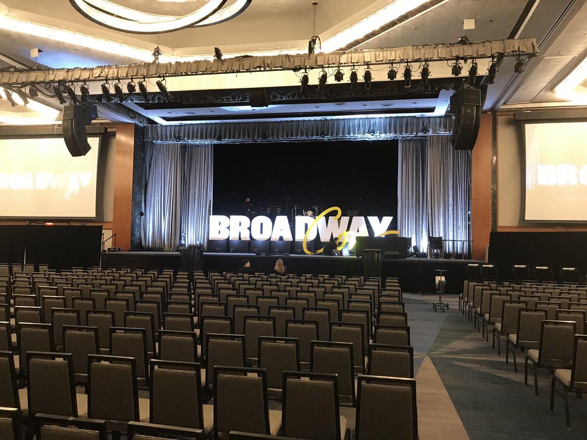BroadwayCon's photo on #BroadwayCon