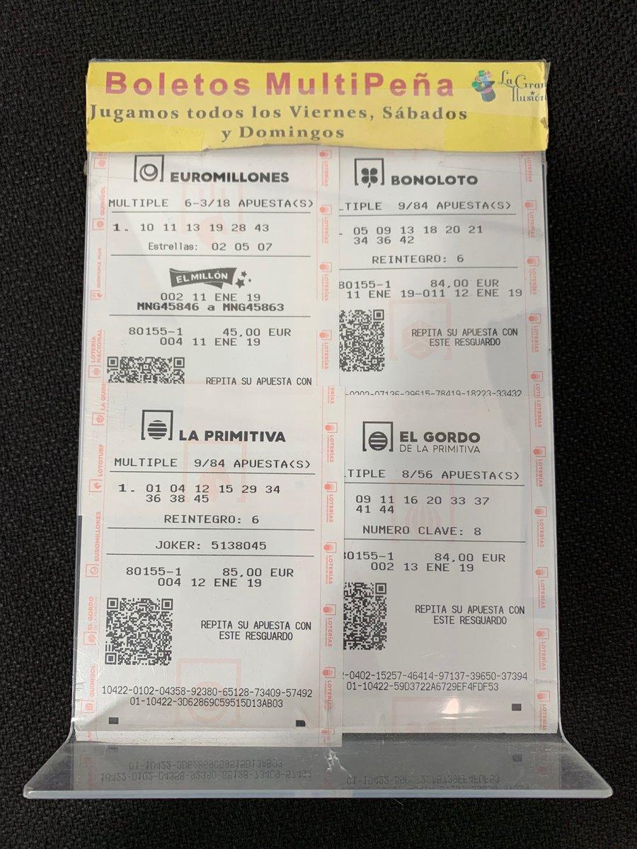 Lotería Gran Ilusión's photo on #finde