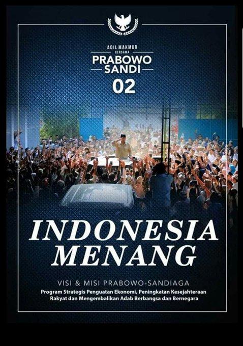 #IndonesiaMenang Photo
