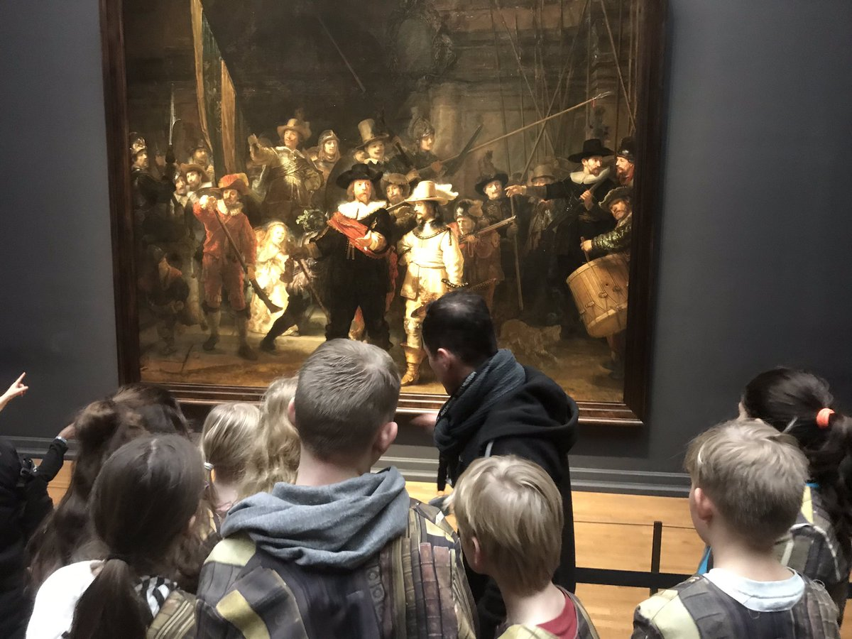 test Twitter Media - Groep 6, 7 en 8 brachten gisteren een bezoek aan het Rijksmuseum. Ze beleefden zelf de geschiedenis aan den lijve, door de verhalen over Rembrandt, Hugo de Groot en Nova Zembla te spelen in een schitterend theaterdecor. https://t.co/wWUGGJCxzm