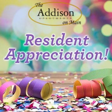 We would like to recognize Linda Nichols as our Resident Of The Month! Linda has lived at The Addison for 10 years and is a very kind and caring person. Linda works as a kitchen aide for School City of Mishawaka. Each month she brings our office Mishawaka Parks and Recreation...