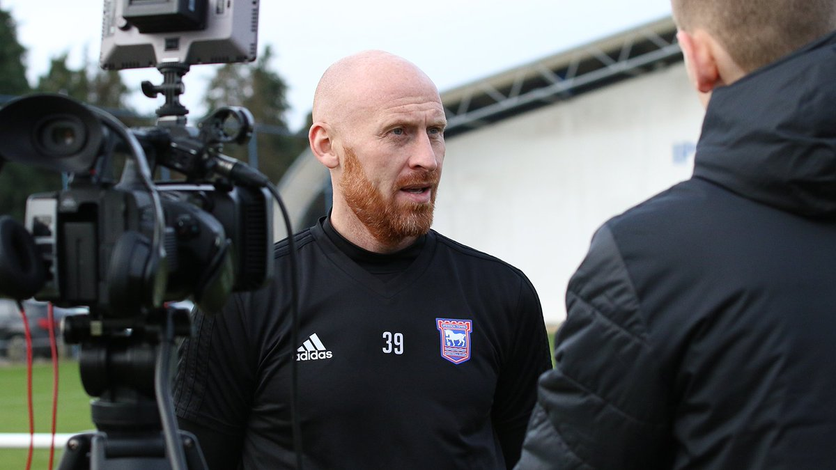 Ipswich Town FC's photo on James Collins