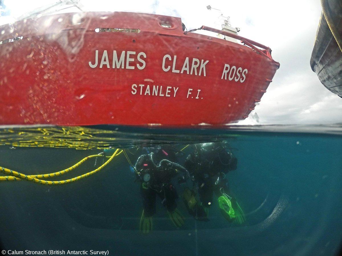 Antarctic Survey's photo on Calum
