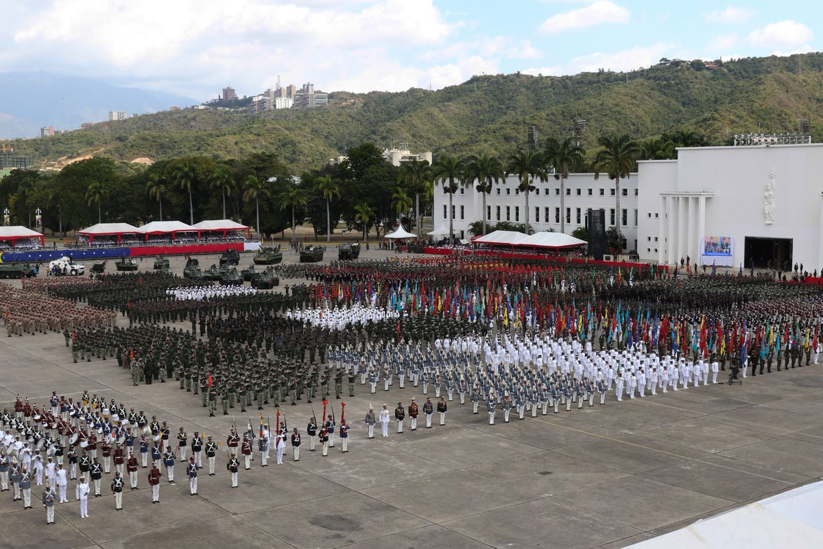 Вооруженные силы Венесуэлы присягнули на верность президенту Мадуро Мадуро, Венесуэлы, президенту, января, страны, соответствует, Венесуэле, международным, президентский, Подписи, Аргентина, поставили, документом, стандартам, посчитала, узурпатором, назвала, Оппозиция, полномочия, называемая