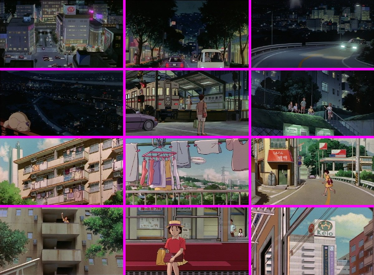 RT @castle_gtm: 映画と実風景の比較その1。 #耳をすませば #耳すま #聖蹟桜ヶ丘 #多摩市 https://t.co/7VmtXWDuad
