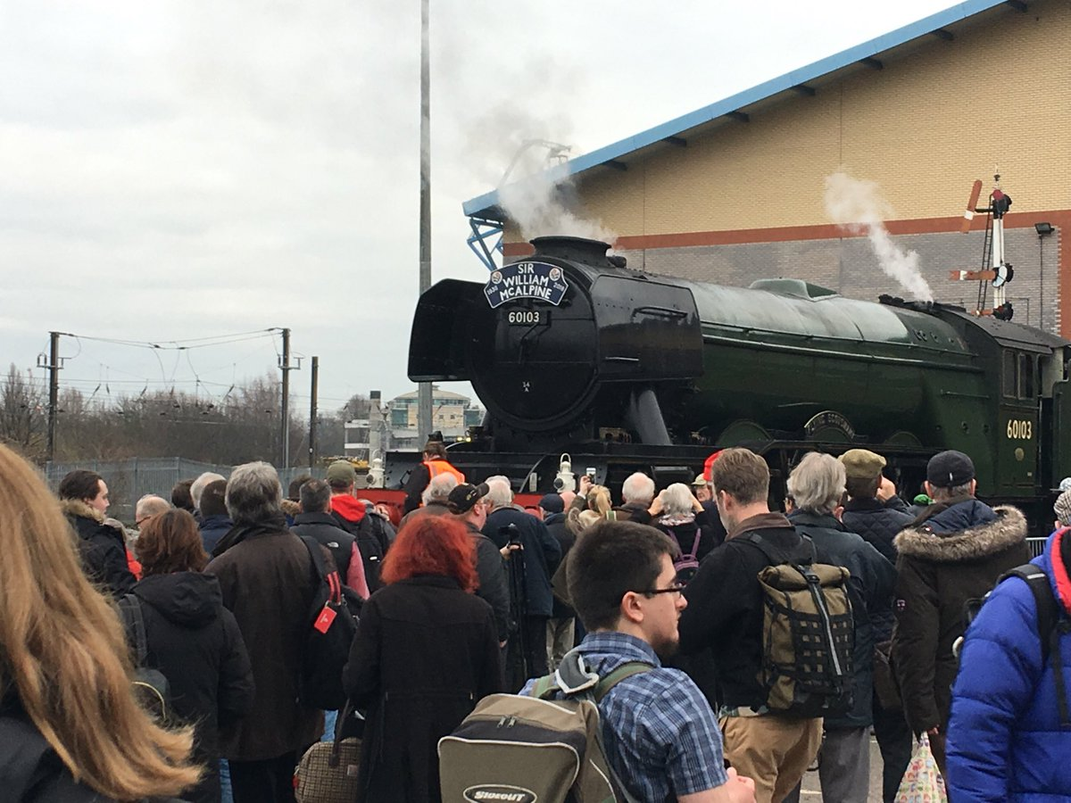 Phil Bodmer's photo on #FlyingScotsman