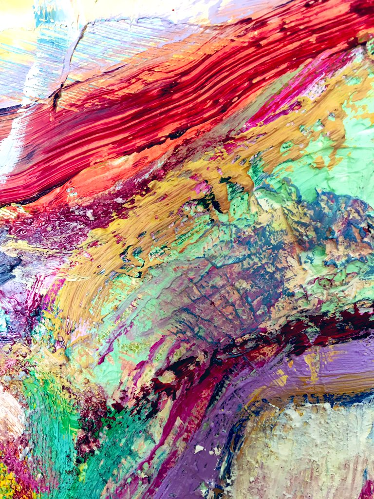 Let it flow!   #FridayMotivation #oilpaintings excerpt by hps<br>http://pic.twitter.com/nTMu0YoRVG