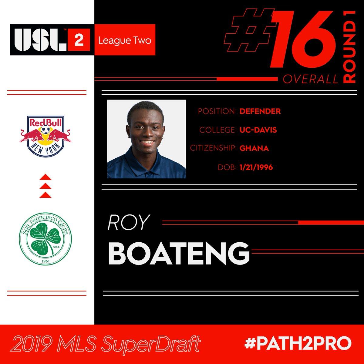 USL League Two's photo on Roy Boateng
