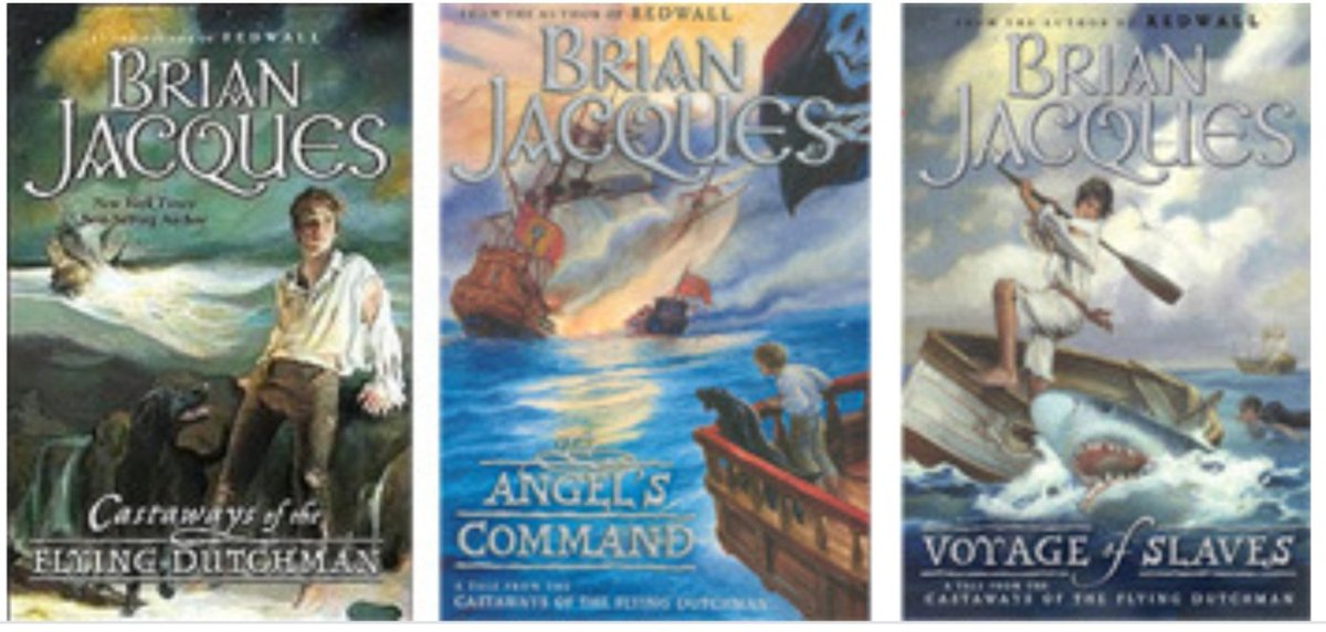 Great book series of anyone needs a new read. Brian Jacques Redwall series was my fave as a kid. These are very different but also very good. #readtowrite #reading #flyingdutchman #books #FridayReads <br>http://pic.twitter.com/dkR9coEWAx
