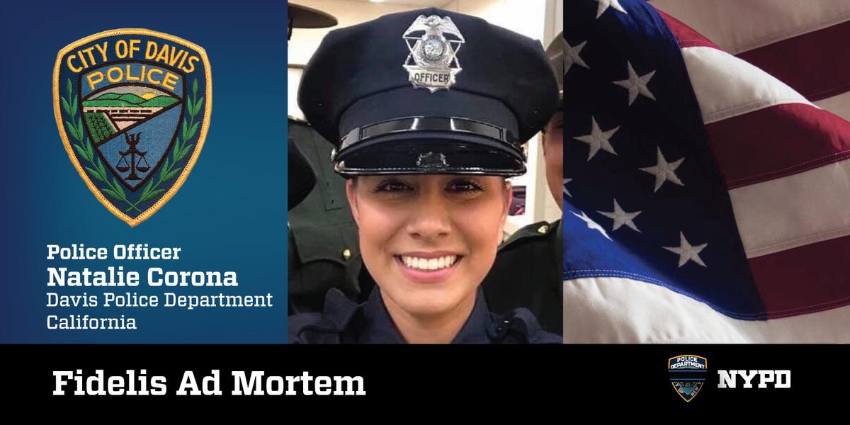 NYPD 81st Precinct's photo on Officer Natalie Corona