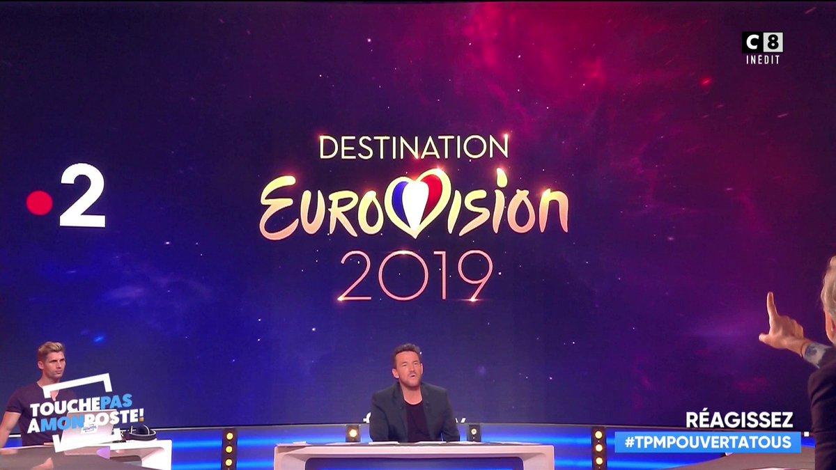 À votre avis, qui représentera la France à l'Eurovision ? 🤔 #DestinationEurovision #TPMPOuvertATous https://t.co/3ZaJ6aTNq4
