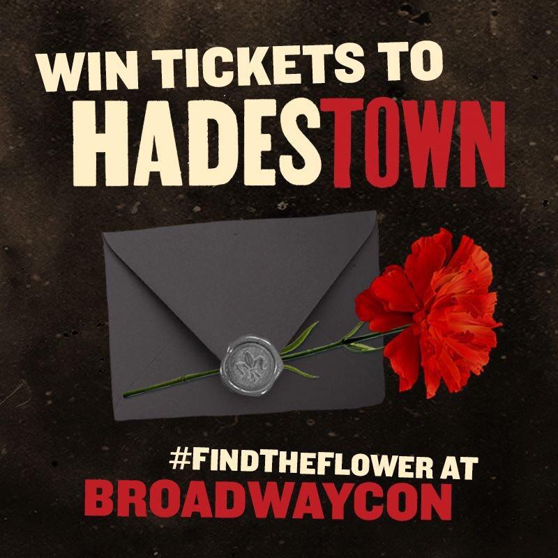 Hadestown's photo on #BroadwayCon