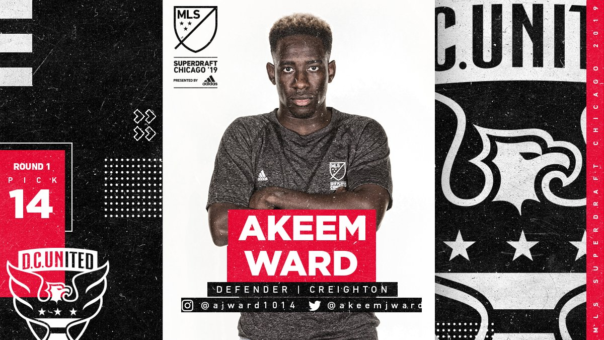 Major League Soccer's photo on Akeem Ward